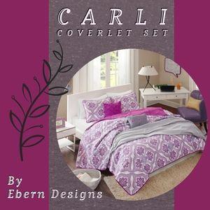 Carli 5 Piece Coverlet Set